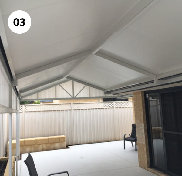 Patio Living Perth: COOLDEK® Insulated Patio Roof Panels